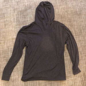 Next Level Apparel lightweight hooded shirt